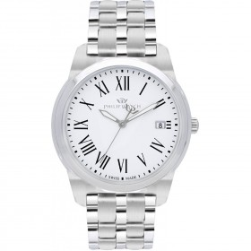 PHILIP WATCH TIMELESS GENT men's watch in steel only R8253495002