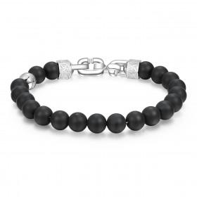 BROSWAY SHANTI man bracelet in steel with BTH18 balls