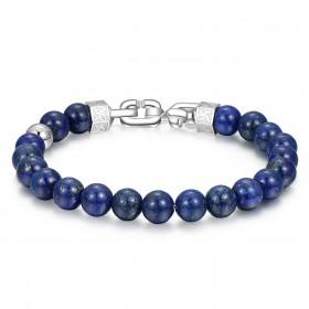 BROSWAY SHANTI man bracelet in steel and BTH19 stones
