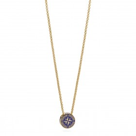 BROSWAY NAUTILUS man necklace in BNU02 yellow gold PVD steel