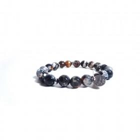 GIOIELLERIA ALBOLINO women's elastic bracelet with natural stones ALBN-20