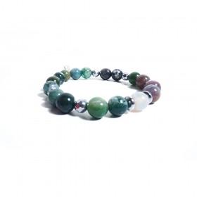 GIOIELLERIA ALBOLINO women's elastic bracelet with natural stones ALBN-22