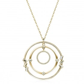 BROSWAY CALLIOPE women's necklace with pendant in BOP02 brass