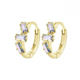 BROSWAY CALLIOPE women's earrings in brass and BOP22 crystals